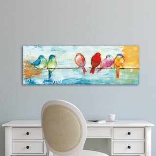 Portfolio Canvas Decor Song Birds I Wrapped Canvas Wall Art