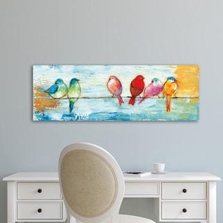 Portfolio Canvas Decor Song Birds I Wrapped Canvas Wall Art