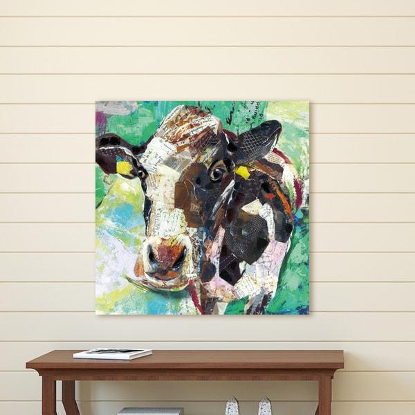Portfolio Canvas Decor Art Cow Wrapped Canvas Wall Art
