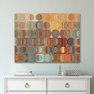 Portfolio Canvas Decor Circles and Square 15 Wrapped Canvas Wall Art