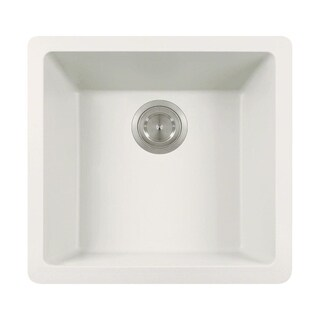 805 White Quartz Sink