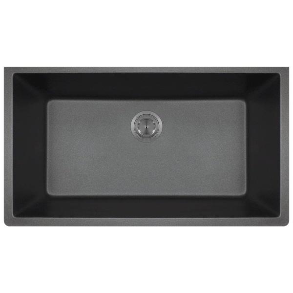 848 Black Quartz Sink