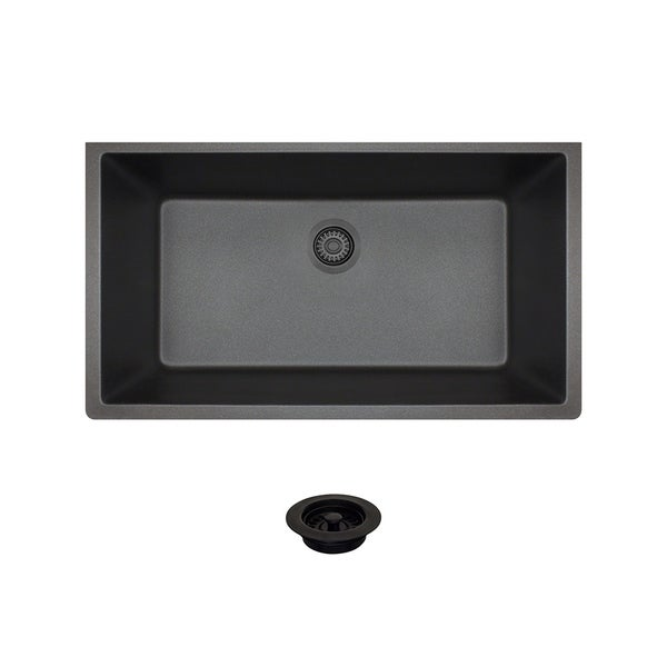 848 Black Quartz Sink