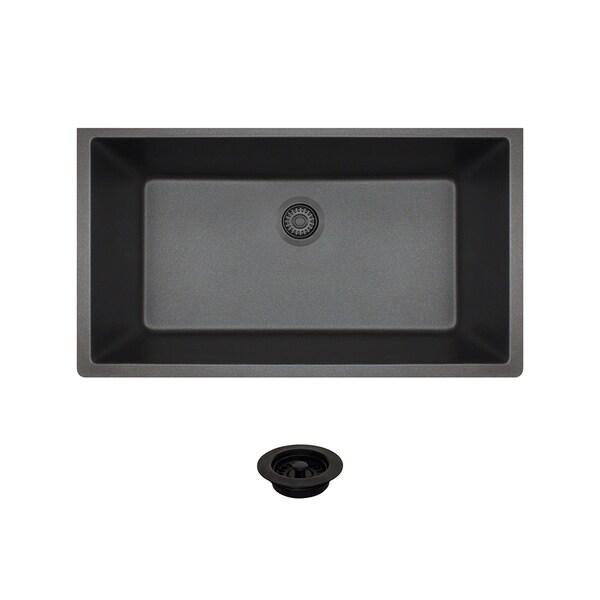 MR Direct 848 Black Sink