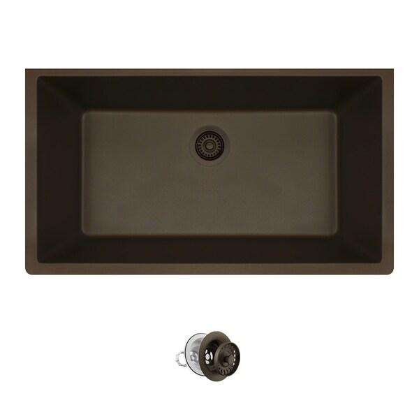 848 Mocha Composite Granite Sink