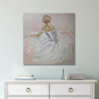 Portfolio Canvas Decor Pink Ballerina Wrapped Canvas Wall Art