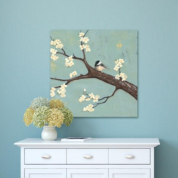 Portfolio Canvas Decor Safe Haven 2 Wrapped Canvas Wall Art - Green
