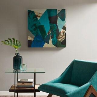 INK+IVY Arrowroot 1 Blue Glass Coat Canvas