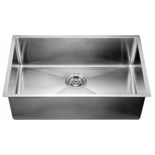 Dawn® Undermount Extra Small Corner Radius Single Bowls