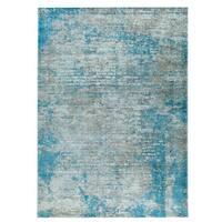 M.A.Trading Hand Woven Dallas Aqua/Blue - 8' x 10'