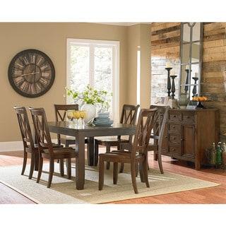 Vintage Brown Wood Dining Table