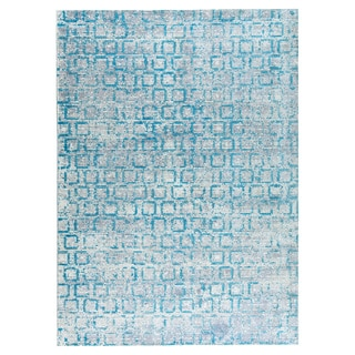 M.A.Trading Hand Woven Tampa Blue (8'x10') (India)