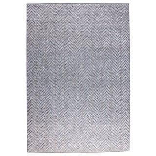 M.A.Trading Hand Woven Chandler Silver (8'x10') (India)