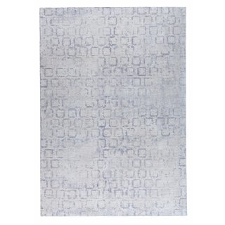 M.A.Trading Hand Woven Tampa Soft Grey (9'x12') (India)
