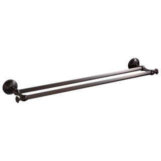 Maykke Ghent Double Towel Bar 24 Inch, Oil-Rubbed Bronze