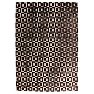 M.A.Trading Hand Woven Yonkers Grey (9'x12') (India)