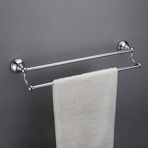 Maykke Boulder Double Towel Bar 24 Inch
