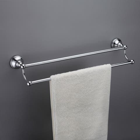 Maykke Boulder Double Towel Bar 18 Inch