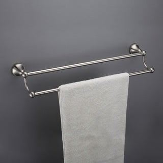 Powell 18-inch Double Towel Bar