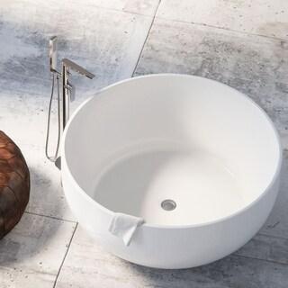 Maykke 53-inch Vale Freestanding Bathtub