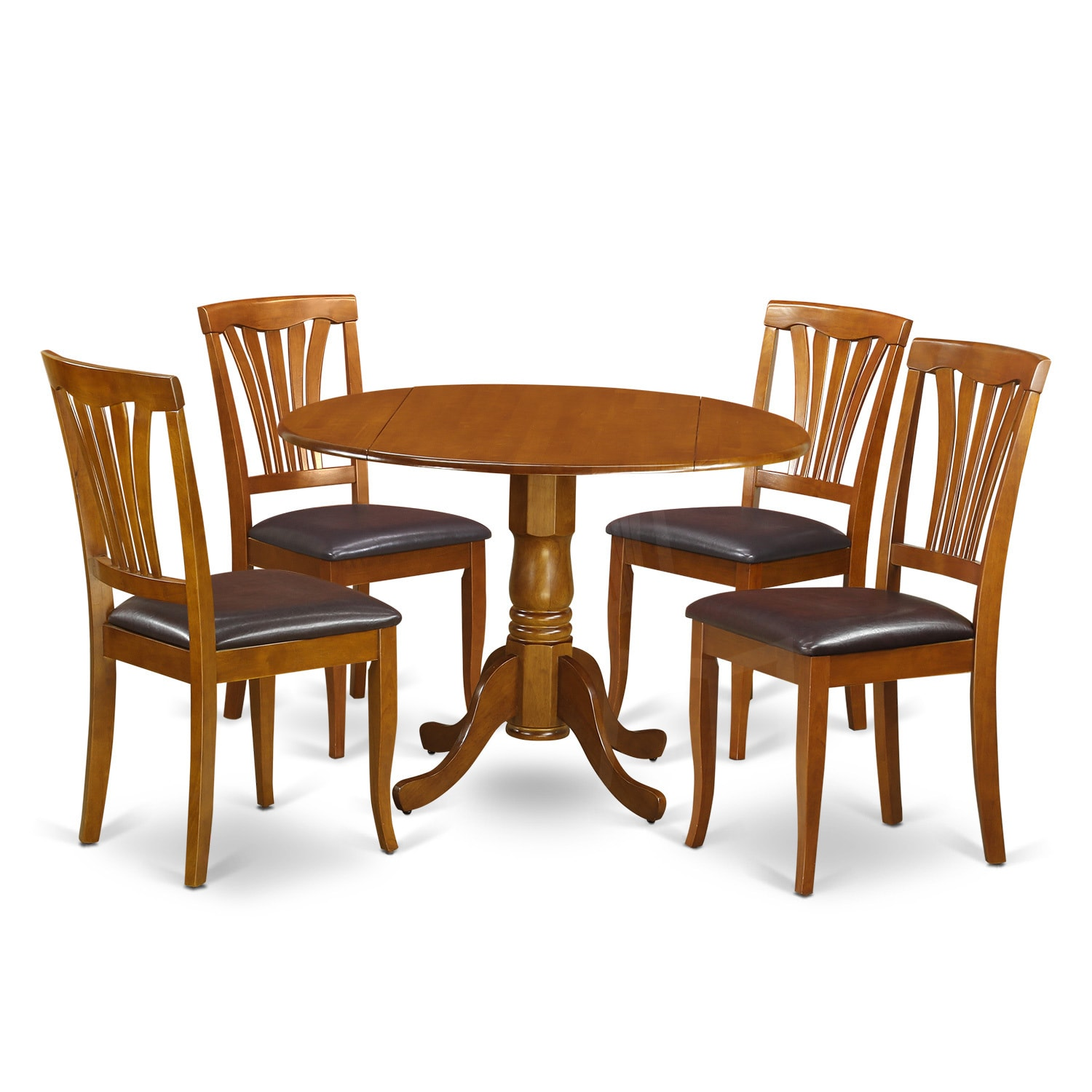 3-piece Dining Set with 1 Table and 2 Dining Room Chairs ...