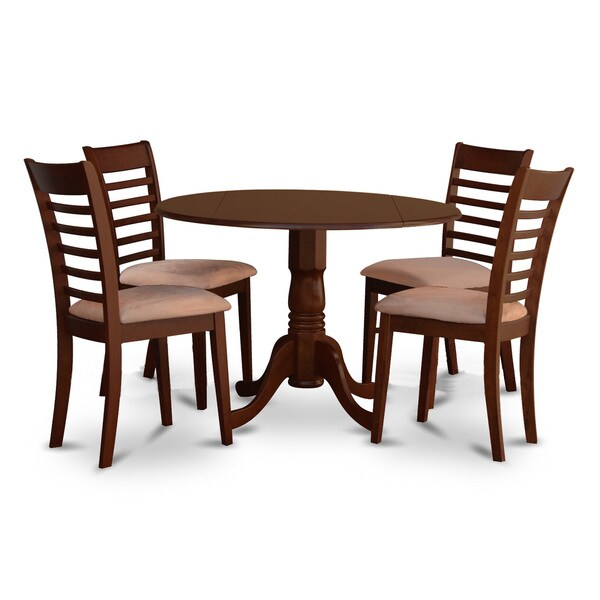 Kitchen Table And Chairs Dublin: Shop DLML5-MAH-C 5 PC Dublin Kitchen Table Set-Dining