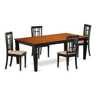 LGNI5-BCH 5 Piece Kitchen Tables and Chair Set