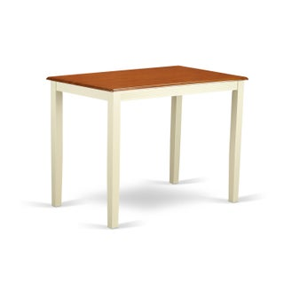 Yarmouth Counter Height Table With Finish Option (Option: White)