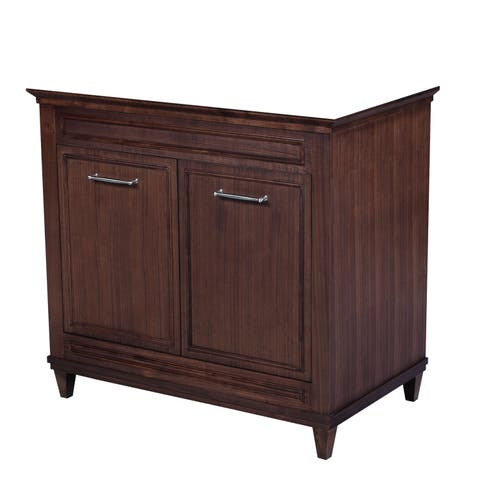 36-inch Aiden American Walnut Vanity Base