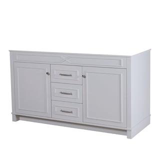 60-inch Abigail French Grey Vanity Base