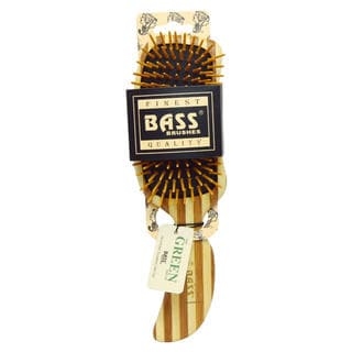 Bass Brushes Semi S Shaped Wood Bristles & Wood Handle