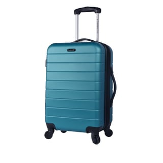 Travelers Club Simone 20-inch Hardside Expandable Carry-on Spinner Cup Holder Suitcase
