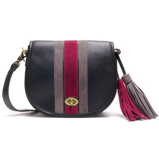Like Dreams Olivia Multicolor Faux Leather Crossbody Handbag
