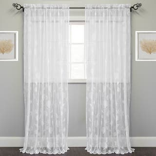 Marine Life Motif Knitted Lace Window Curtain Panel|https://ak1.ostkcdn.com/images/products/14370092/P20944216.jpg?impolicy=medium