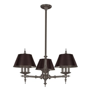 Hudson Valley Cheshire 9-light Antique Nickel Chandelier