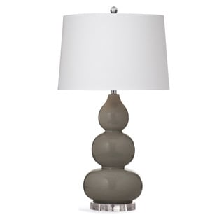 Hawley 31-inch Grey Ceramic Table Lamp
