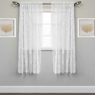 Marine Life Motif Knitted Lace Window Curtain Panel|https://ak1.ostkcdn.com/images/products/14370102/P20944215.jpg?impolicy=medium