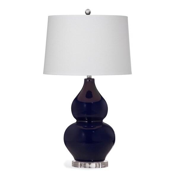 Grant 29-inch Blue Ceramic Table Lamp