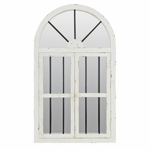 42-inch Arched Window Wall Mirror