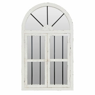 42-inch Arched Window Wall Mirror