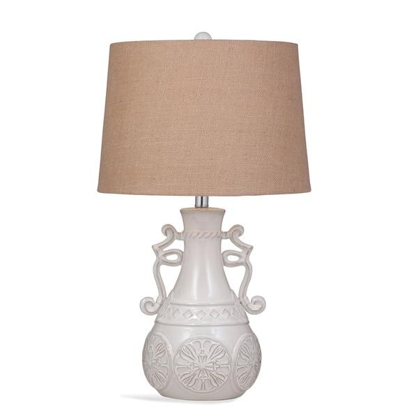 Weston 28-inch Off-white Ceramic Table Lamp