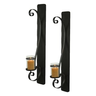 Arya Candle Wall Sconce (Set of 2)