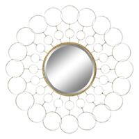 Avalon Gold Metal Wall Mirror