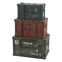 Broderick Container Trunks (Set of 3)