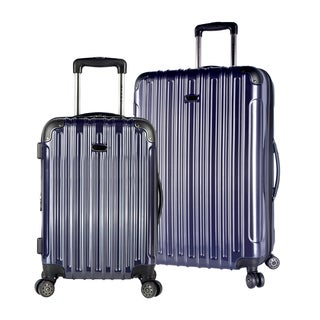Travelers Club Icarus 2-piece Two-toned Hardside Expandable Dual-spinner Collection