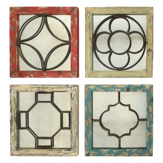 Ellison Distressed Mirrors (Set of 4)