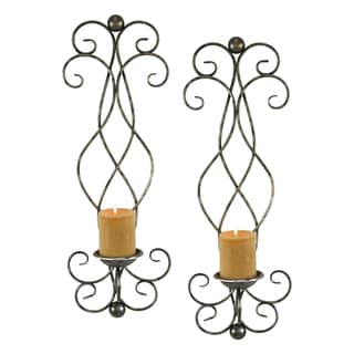 Estelle Candle Wall Sconce (Set of 2)