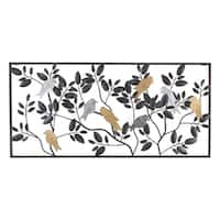 Harmony Metal Bird Wall Decor
