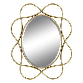 Janelle Gold Iron Wall Mirror