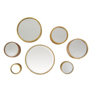 Margate Gold Accent Mirrors (Set of 7)